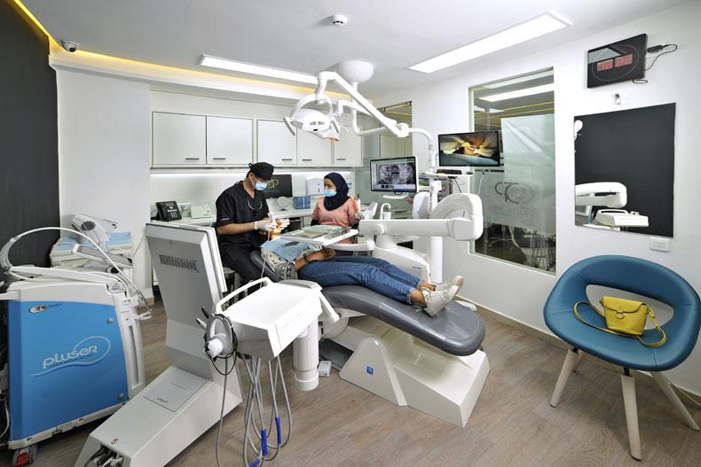 equipement centre dentaire palmiers